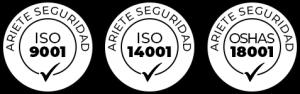 Logo Ariete UNE-EN-ISO