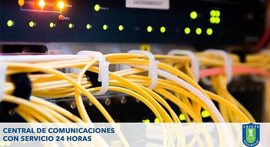 Central de Comunicaciones con Servicio 24 Horas