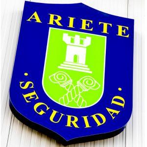 Escudo Ariete Seguridad